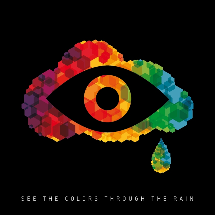 The Rust And The Fury - See The Colours Through The Rain Cover_dgt
