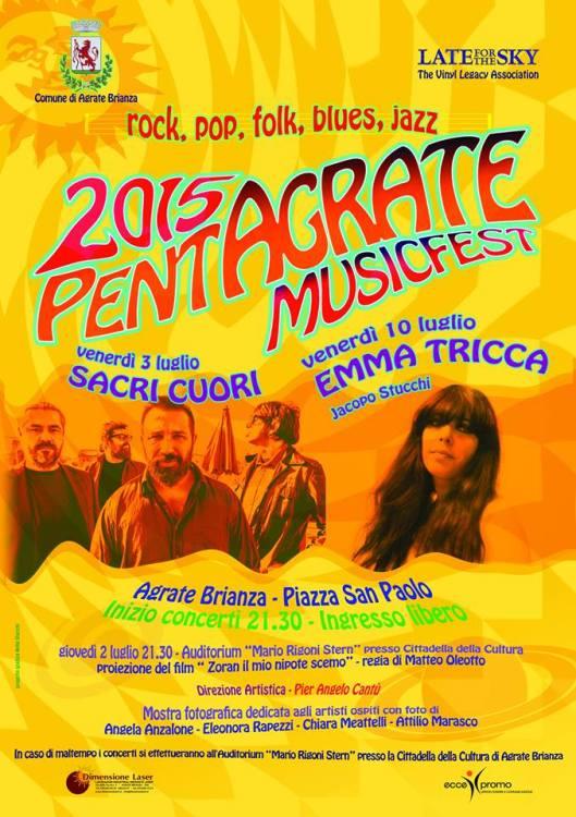 pentagrate music festival locandina