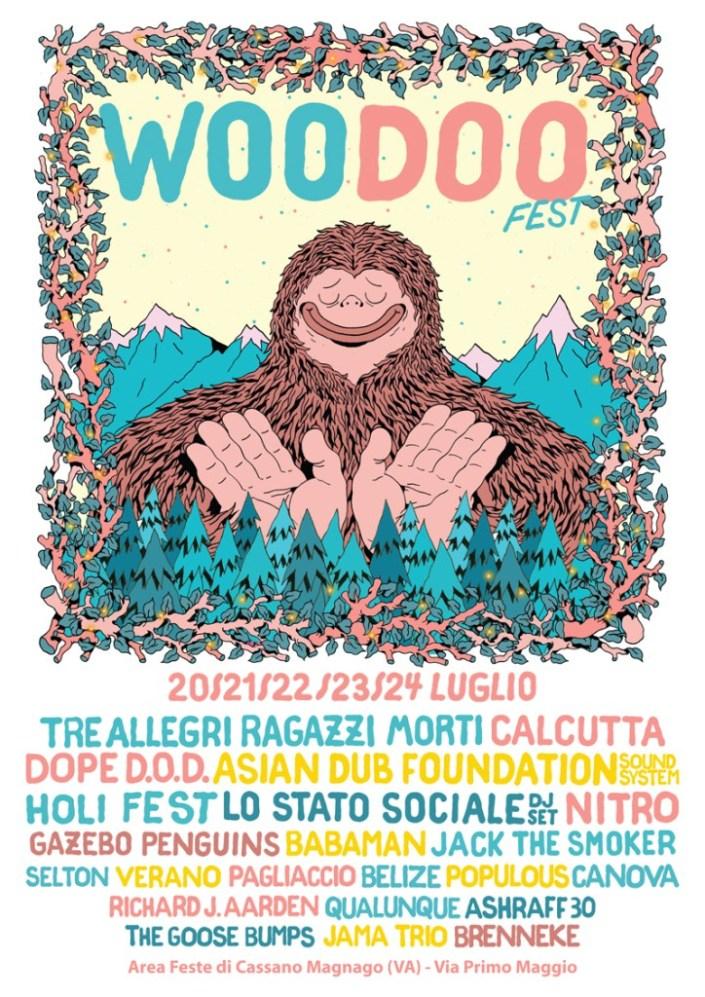 woodoo fest locandina